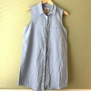 Authentic American Heritage Stripe Denim Top
